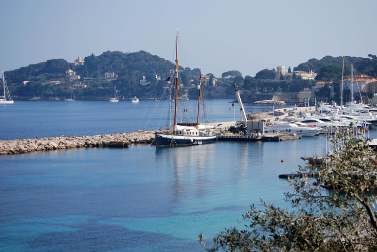 The Port in Villefranche sur Mer - March 2010 -