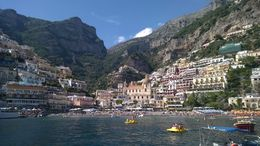 The views of the Amalfi coast are unbeatable from the sea. This is the view of Positano, a photo really can't do it justice.... , Matthew L - June 2015