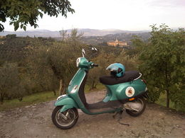 My Vespa for the day! :), Sandra - October 2013