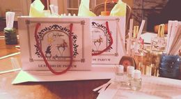 Photo of Paris Perfume Workshop in Paris and VOILÀ!! .. Warm fresh caramel rosy scent, licorice with cashmere wood a