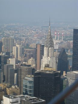 Photo of New York City NY SKYRIDE and Empire State Building Observatory Chrysler Building