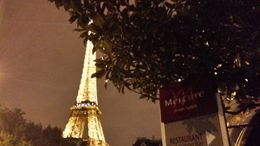 Photo of Paris Paris Shuttle Arrival Transfer: Charles de Gaulle Airport (CDG) Eiffel Tower at night
