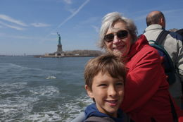 Ferry ride to Ellis Island, lgs888 - April 2015