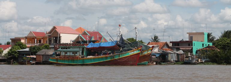fishning boats - Ho Chi Minh City
