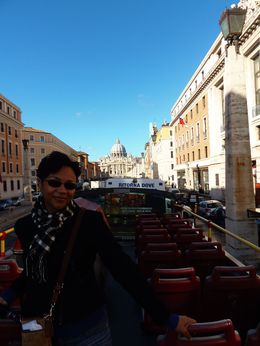 Photo of Rome Rome Hop-On Hop-Off Sightseeing Tour Heading to the Vatican
