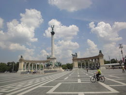 Photo of Budapest Budapest Bike Tour Heroes´ Square