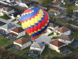 Photo of Orlando Orlando Sunrise Hot-Air Balloon Ride looking down