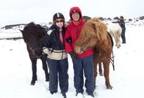Photo of Reykjavik Viking Horse-Riding Tour and Blue Lagoon from Reykjavik