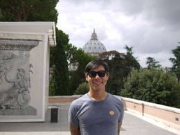 At the Vatican!, Laura All Over - August 2014