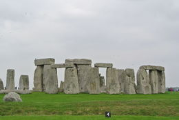 the weather made the Stonehenge look more eerie. , Erica J - September 2014