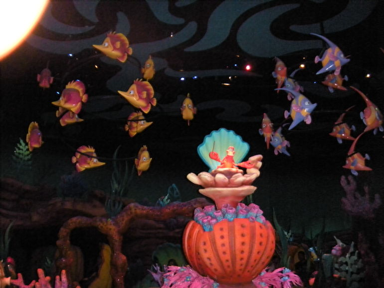 The Little Mermaid - Ariel's Undersea Adventure - Las Vegas