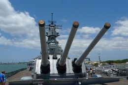 The U.S.S. Missouri taken from a different angle., Ngiap Teck T - July 2009