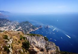 We took the Chair lift to the top of the mountain in Ana Capri...gorgeous views! , Danielle v - September 2014