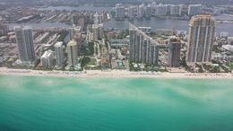 Photo of Miami The Grand Miami Air Tour A minute after takeoff.