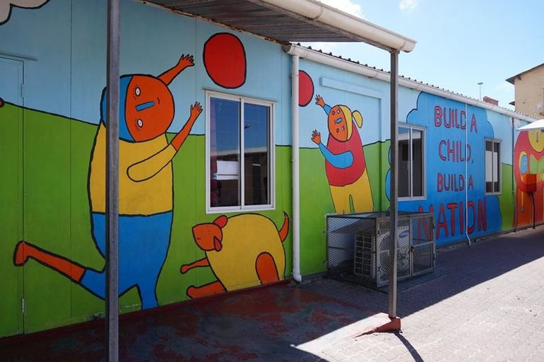A School in Langa Township