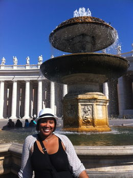 Photo of   At the Vatican