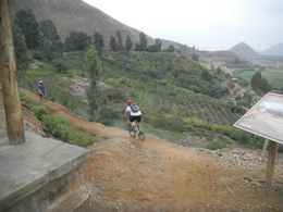 Photo of Lima Road to Pachacamac: Small-Group Bike Tour from Lima Biking in Peru