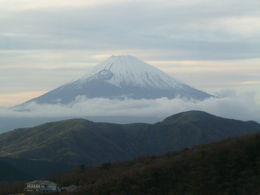 Photo of Tokyo Mt Fuji, Lake Ashi and Bullet Train Day Trip from Tokyo Fuji through the clouds