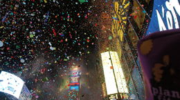 Happy New Year 2016 from Times Square , Dan D - January 2016