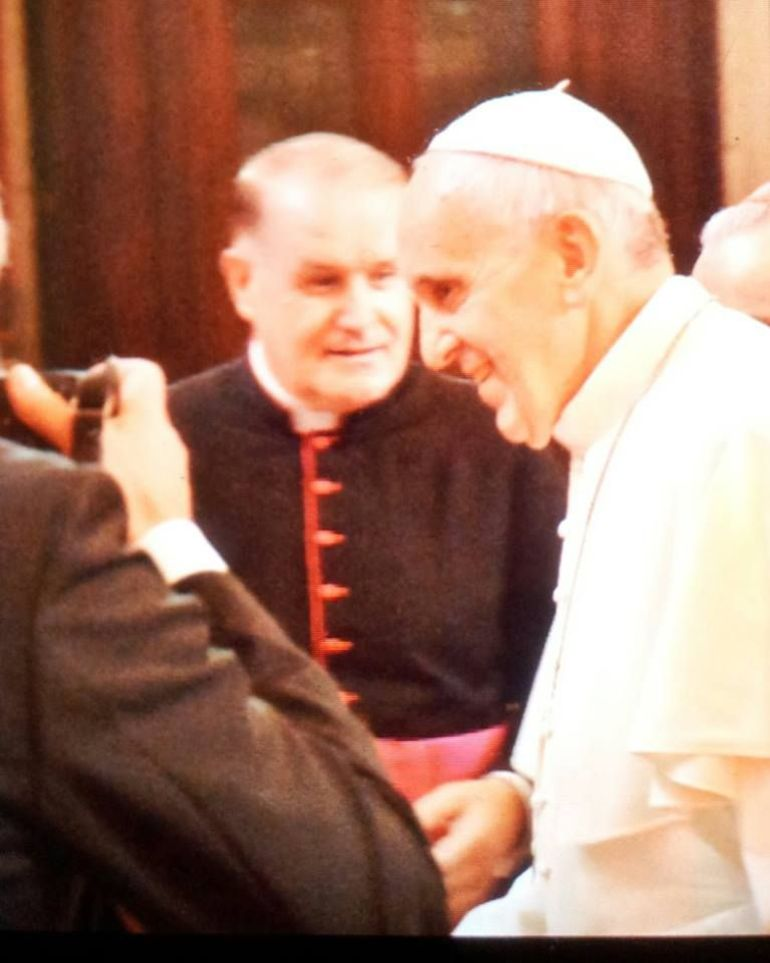 Meeting with Pope Frances - Rome