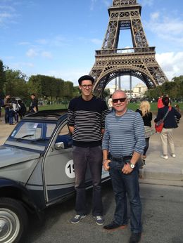 Photo of Paris Private Tour: 2CV Paris City Highlights Tour our guide