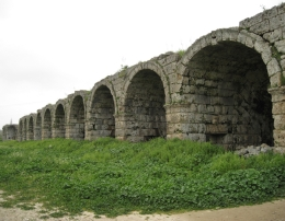 Vaults of the stadium in Perge, Behnam Akhavan - June 2010