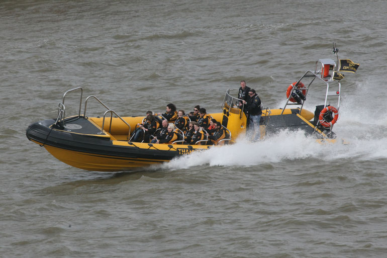 River Thames High-Speed Cruise - London