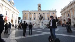 Riding a Segway through Rome! - February 2012
