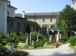 A graveyard in Salzburg - June 2009