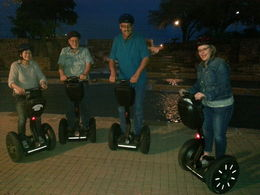 The McColloughs and the Russells --Segway Ghost Hunters , Carol M - April 2014
