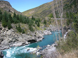 Photo of Queenstown Queenstown Kawarau River White Water Rafting Wonderful racing water in Kawarau Gorge