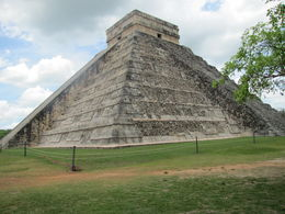Very pleased to see the difference of the restored and unrestored sides of the pyramid , Sandra R - May 2014