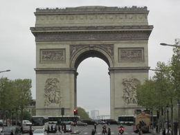 Photo of Paris Paris City Tour with Seine River Cruise and Eiffel Tower Lunch arc de triomphe