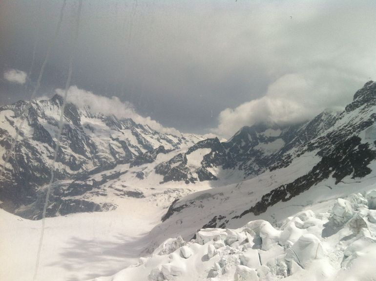 At the top of Jungfrau - Zurich