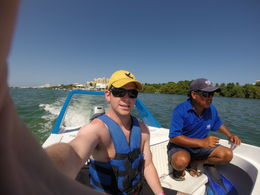 Photo of Cancun Jungle Speed Boat Tour from Cancun Boat trip