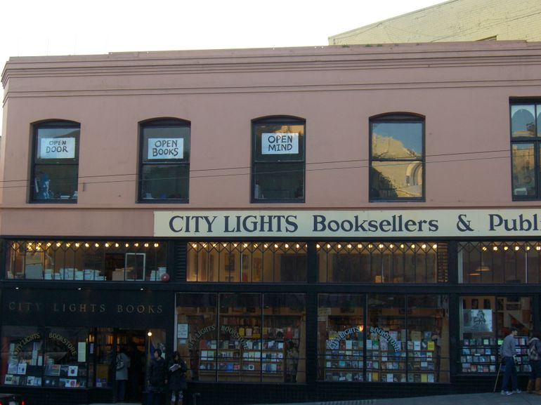 City Lights Booksellers and Publishers, San Francisco's North Beach - San Francisco