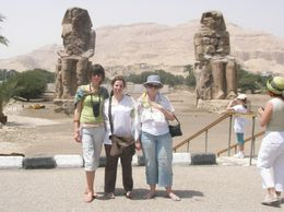 Photo of Luxor Private Tour: Luxor West Bank, Valley of the Kings and Hatshepsut Temple Collossei of Memnnon