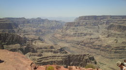 Beautiful view of the Colorado River from the Grand Canyon West Rim , Shirley T - June 2014