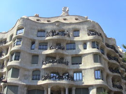 Shot of the outside of the unique Gaudi creation!!! , matthewtotaro - June 2015