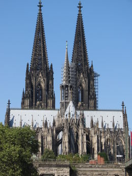 The Dom (Cologne Cathedral) as seen passing by on the cruise. You cannot get this aspect very easily anywhere else! , David H - August 2012