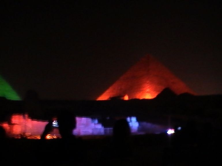 Light & Sound Show - Cairo