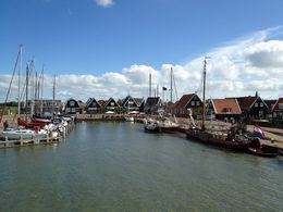 On the way in a ferry to Volendam. , Celester T - October 2013