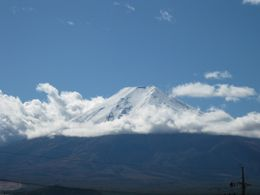 Mt. Fuji from Bus, Shalmi P - November 2009