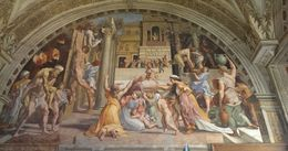Photo of Rome Skip the Line: Vatican Museums Walking Tour including Sistine Chapel, Raphael's Rooms and St Peter's Raphael Rooms