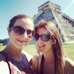 Photo of Cancun Viator Exclusive: Early Access to Chichen Itza with a Private Archeologist side profile selfie of the Chichen Itza :)