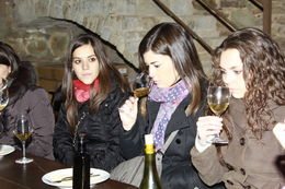Photo of Barcelona Small-Group Montserrat Tour from Barcelona: Wine and Cheese Tasting with Optional Golf Round Small-Group Montserrat Tour from Barcelona: Wine and Cheese Tasting with Optional Golf ...