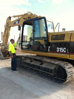 Photo of Las Vegas Dig This: Heavy Equipment Playground Start of the ride