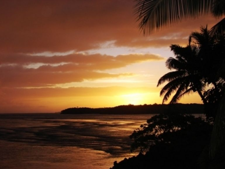 Sunset - Fiji