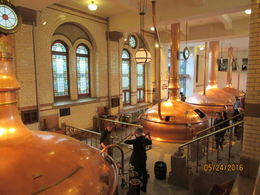 The vats for brewing the beer , sacjt - June 2016