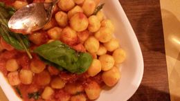 Gnocchi ready to eat, dnebuloni - April 2016